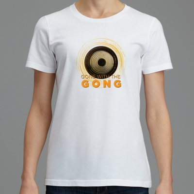 Women's Gone with the Gong T-shirt