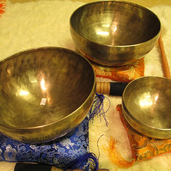 Hand made Full Moon Singing Bowls from Nepal - Yoga Accesories